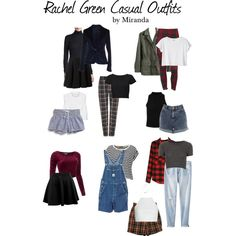 Rachel Green Casual Outfits