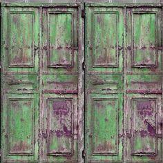 rusty green  | DO7 Green Rusty Door