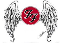 Foo Fighters tattoo design idea.