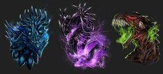 Dragon Lieutenant Trio - Guild Wars 2 by Isvoc on DeviantArt