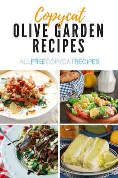 Our Best Olive Garden Copycat Recipes | Make your favorite Olive Garden soups, appetizers, desserts, and main dishes from the comfort of your own home!