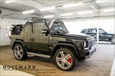 Hollmann internationally: Mercedes Benz G 500 BRABUS (16G0248) - Details