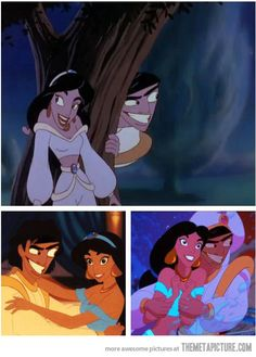 What if Aladdin always looked like that. Can't stop laughing!