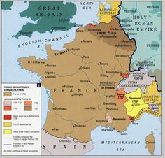 A map of France during the Hundred Years  War  It is around the time     Historical Maps of France