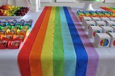 festa infantil arco iris - Pesquisa Google