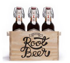 For their final project in Persuasive Graphics at Abilene Christian University, students James Utley, Keith Jernigan, Aubree Barnett, Zack Gulliani and Jordan Bell created a root beer company.