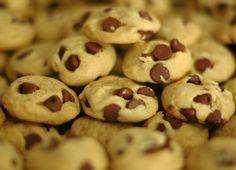Warm Choc Chip Cookies
