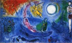 Marc Chagall「THE CONCERT」