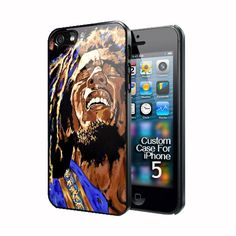 reggae legend bob marley art painting for apple iphone 5 case cover, US $16.89