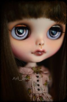 OOAK Custom Blythe doll by Art_emis - Autumn