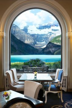 No matter which of the Fairmont Chateau's seven dining options you choose, your ears and stomach will be full. However, if you want the very best view of Lake Louise, the aptly named Lakeview Lounge is the way to go. The picture speaks for itself, no?