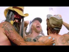 Foo Fighters.  Naked.  In cowboy boots.  In the shower.  Awesome....