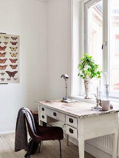 11 mesas originales para utilizar un rincón de trabajo en casa   Bohemian and Chic