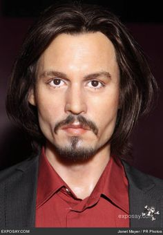 Image detail for -Johnny Depp - New Wax Figures Unveiled at Madame Tussaud's Wax Museum . Madame Tussauds, Johnny Depp News, British Royal Family Members, Celebrity Long Hair, Lily Rose Melody Depp, Wax Museum, New Hair, Beautiful Men, The Incredibles