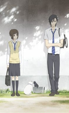 "Say ""I love you""  I love this anime It's just so cute/sweet"