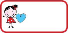 [느리쌤자료] 새학기 이름표 준비하기 , 신발장 이름표, 가방 이름표, 유아 이름표 도안 ★느리쌤 아직 수... Name Stickers, Printable Tags, Printables, Class Rules, Kindergarten, Clip Art, Montessori, Education, School