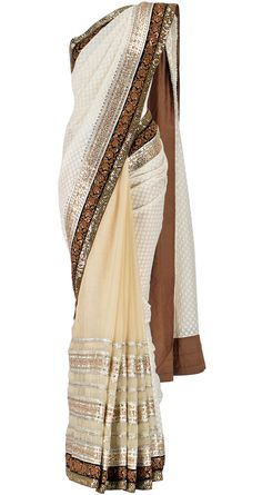 Sabyasachi sari- the kind of dress Inara wore on Firefly!  I need cool events to wear something like this.