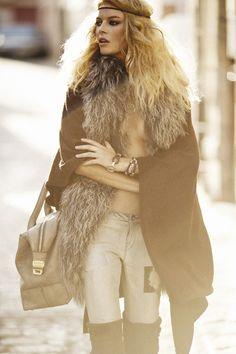 Cristina Tosio by Mario Sierra for Elle Spain