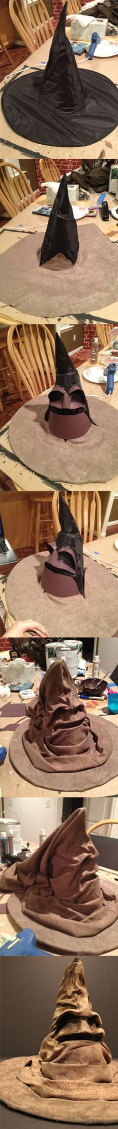 DIY Harry Potter Sorting Hat