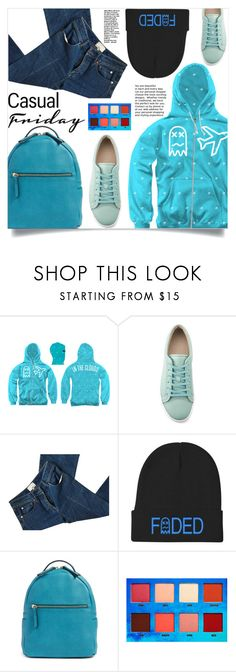 """""""Faded XX Clothing"""" by samra-bv ❤ liked on Polyvore featuring 3.1 Phillip Lim, Lime Crime, casual, shoes, cap, hoodie and Tshirt"""