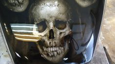 Tank art Custom Airbrushed Motorcycle Airbrushing Custom Honda Sculls Artist Yury Sokolov Аэрография мотоциклов Yourlife Airbrushing (Custom paint/Airbrushing/Design) YOURLIFE AIRBRUSHING ▲- Аэрография & Дизайн: Аэрография на мотоциклах