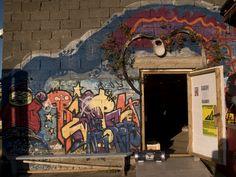 Entrance at Redderiet Nyksund