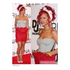 She looks like a doll, love it all Rihanna Short Hair, Best Of Rihanna, Rihanna Outfits, Rihanna Clothes, Most Beautiful Faces, Rihanna Fenty, Black Women Fashion, Dress Me Up, Cute Hairstyles