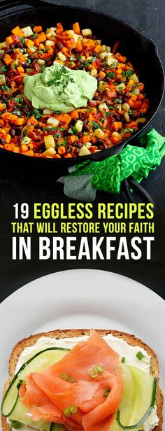 19 Eggless Breakfasts That Are Actually Healthy And Delicious (pancakes & smoothies)