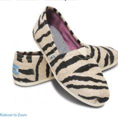 Zebra toms :)