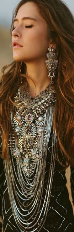 Bohemian jewelry. For more follow www.pinterest.com/ninayay and stay positively #pinspired #pinspire @ninayay