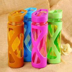 580ML Seal Straw Sports Water Bottle Non slip Heat Resistant Plastic Protein Powder Shaker Fitness Drinkware-in Water Bottles from Home & Garden on Aliexpress.com | Alibaba Group  Price: 3582.00 & FREE Shipping  #women