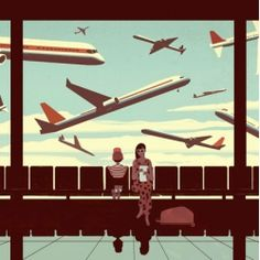 Fun illustrations from Emiliano Ponzi.