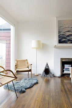 Thayer's Modern Beachy Apartment — House Tour