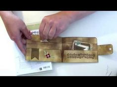 [Tutorial #1] Grußkarte Geldbörse - YouTube
