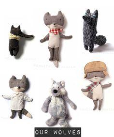 Knuffels à la carte blog: Let's cuddle our wolves and foxes...