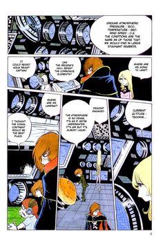 Captain Harlock, manga japoniarra. Euskaratutako labur bat: http://azpitituluak.com/euskaraz/1232059295