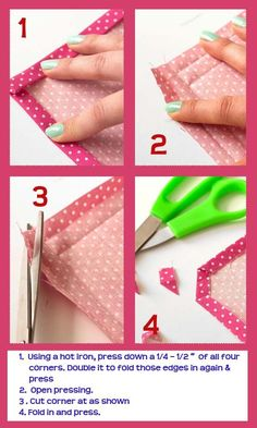 Perfectly Mitred Corners (1 of 2) by HotPolkaDot.com: