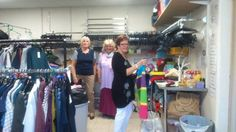 These are some of our fantastic volunteers, hard at work behind the scenes in our Barton shop. #thankyouverymuch #wecouldn'tdoitwithoutyou