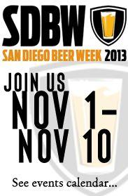 San Diego Beer Week is almost here!