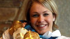 Doppelolympiasiegerin Magdalena Neuner 2010