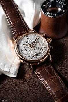 The New Patek Philippe 5204R Perpetual Calendar Split-Seconds Chronograph Read More