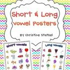 This is a set of 2 short and long vowel posters. These are convenient and useful learning tools for your students to refer to. Enlarge these poster...