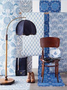 Blue patterns - studiojoyz.blogspot.nl