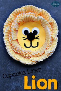 Your children will love using leftover cupcake liners to create this adorable and easy-to-make Cupcake Liner Lion Craft.