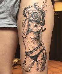 Znalezione obrazy dla zapytania tattoos diving