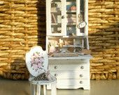 Dollhouse Desk Shabby Chic Style