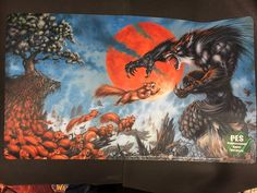 CCG Playmats 183464: M:Tg- Werewolf V Squirrels Grand Prix 2012 Playmat Art By Ron Spencer - Rare! -> BUY IT NOW ONLY: $35 on eBay!