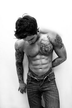 badass tattoos and eye candy for the ladies