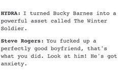Steve Rodgers & Bucky Barnes #CaptainAmerica #WinterSoldier - visit to grab…