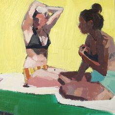 "Nokomis, 8x8"" Oil on linen, 2013 | Samantha French : www.samanthafrench.com"